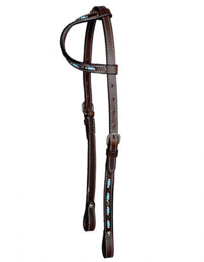 One Ear Zuni Design/Turquoise