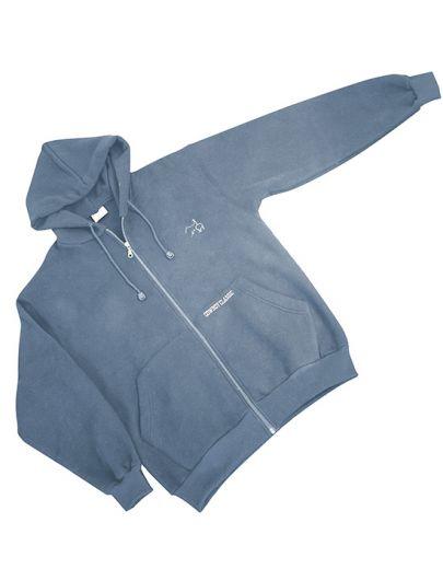 Cowboy Classic Zip Jacket - Dusty-Blue 130-DB