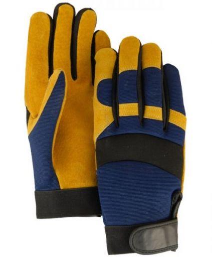 Majestic Handschuhe Gold Pig Split Leather ungefüttert