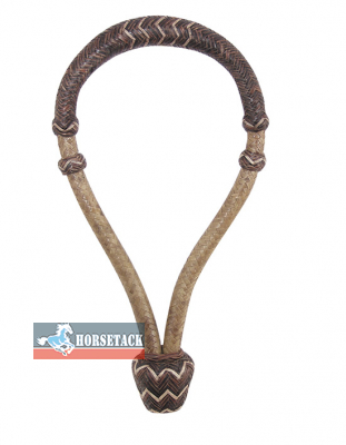 Bosal brown rawhide