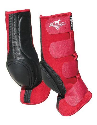 VenTech Skid Boots Standard - Crimson Red