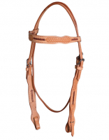 Headstall Basket Tooled Quick Change #HS-115
