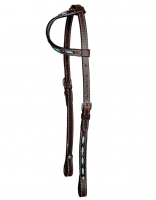 One Ear Zuni Design/Turquoise