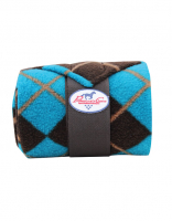 Professionals Choice Polo-Bandagen - Chocolate-Turquoise