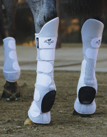 VenTech Skid Boots Tall Tops - White