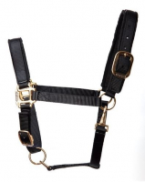 Tuff Stuff Halter - Black