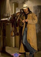 Der Duster den der Cowboy tägt