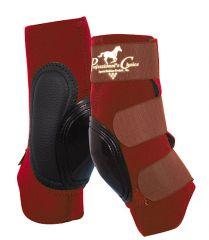 SKB400 Short Skid Boots - bordeaux