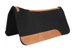Mustang Black Felt Pad - Contoured