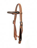 SHAPED TWO TONE HEADSTALL