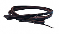 Heavy Oil Harness Split Reins 1/2
