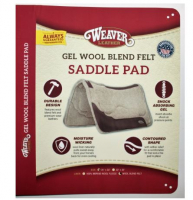 WEAVER Contoured Wool Felt GEL Pad – 31 x 32´´ – 1´´ - Wool Felt Bottom