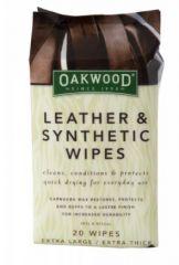 Oakwood Leder Reinings - & Pflegetücher