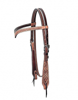 V-Shaped Headstall with basket tooling