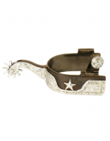 Brown Star Spurs