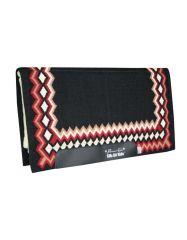 Air Ride - Shilloh Pattern, Black-Crimson
